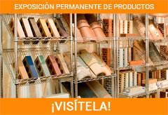 Exposición productos