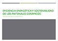 portada Presentación Jornada Técnica Eficiencia Energética y sostenibilidad con cerámica