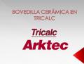 """portada Presentación """"Cálculo de forjados de bovedillas cerámicas con TRICALC"""""""