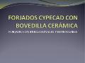 """portada Presentación """"Cálculo de forjados de bovedilla cerámica con CYPECAD"""""""