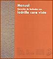 portada Manual de Ejecución de fachadas con Ladrillo cara vista