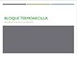 portada Presentación Jornadas Técnicas sobre Termoarcilla
