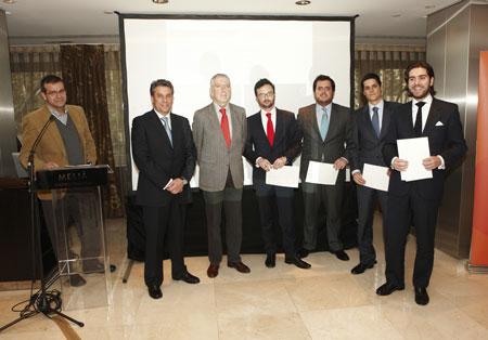 Entrega premios IV Concurso Cátedra Hispalyt