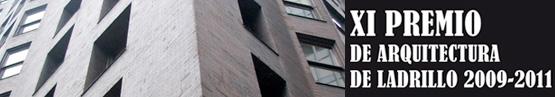 XI Premio de Arquitectura con Ladrillo