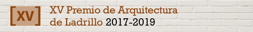 XV Premio de Arquitectura de Ladrillo